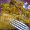 Papillote de poulet massalé