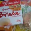 J'ai testé pour vous {produit} : Mon pâton Pâte Brisée de Francine