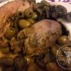 Poulet fumé zitoune: aux olives