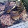 Boeuf bouilli au barbecue