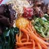Bibimbap – Bibim bap – Riz aux légumes et à la viande