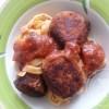 Polpettes calabraises: boulettes de viande italiennes (et sa sauce tomate maison… aux champignons)