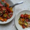 Salade de tomates aux 2 estragons