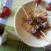Fondue au chocolat aux fraises