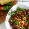 Salade estivale grillée
