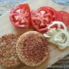 Rice burger: le pain hamburger de riz {sans gluten, sans lactose, vegan}