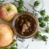 Chutney de tomates vertes et de pommes