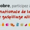 Le 16 octobre: Journée nationale contre le gaspillage alimentaire