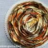 Quiche spirale de légumes: la quiche qui vous fera tourner la tête!