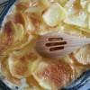 Gratin dauphinois {sans lactose, sans fromage}