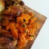 Coquelets rôtis au balsamique et ses carottes Vichy