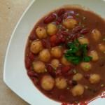 Dombrés de haricots rouges {végétarien}