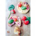 Minis cheesecakes au chèvre et tomates cerises