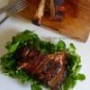 Cuisses de dinde grillées au four, marinées à la sauce barbecue
