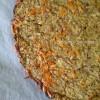 Pâte à pizza sans farine… à l'aubergine #InstaFood
