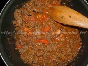 viande hachée au chili