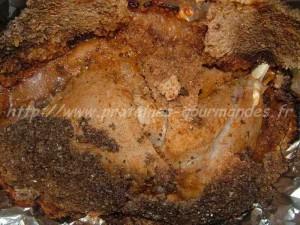 cuisse de dinde en croute