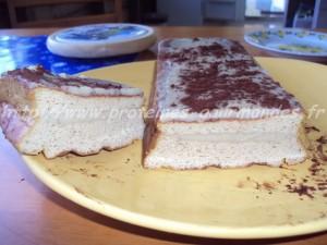 genoise tofu a la creme vanille