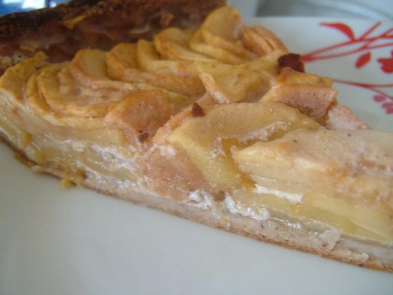 Tarte aux pommes sans oeufs prot ines gourmandes - Tarte aux poireaux sans oeufs ...