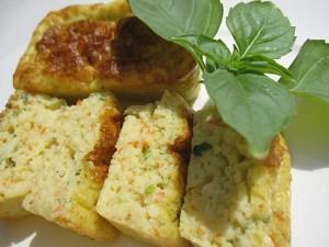 Mini-cakes-basilic-surimi