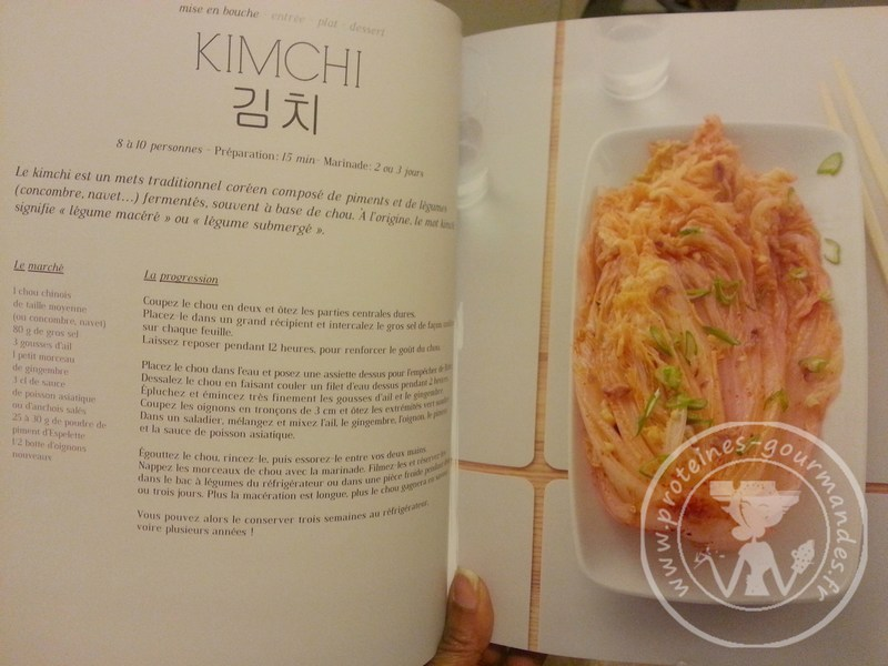Kimchi de chou chinois p tsa prot ines gourmandes - Cuisiner du choux chinois ...
